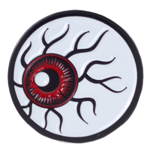 Pin's  Kustom Kreeps Eyeball