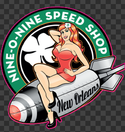 Sticker NINE-O-NINE SPEED SHOP