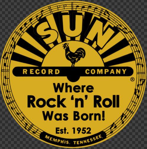 Sticker SUN RECORD COMPANY