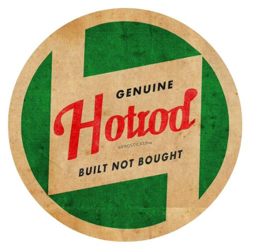 Sticker GUENUINE HOTROD