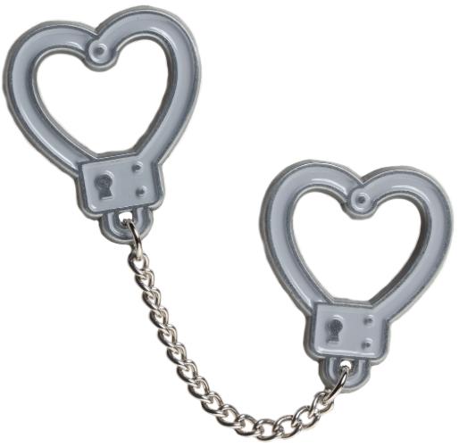 Pin's  Handcuffs Sourpuss
