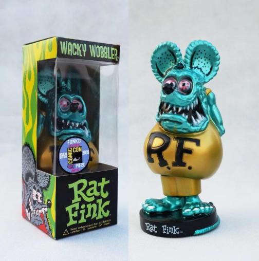 "Figurine RAT FINK ""Tête Bleue  """