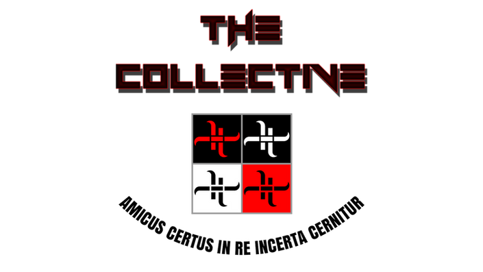 "HaXxXo VtotheZ's ""The Collective"" Official Logo Flag"