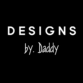 Designs by. Daddy Official Logo