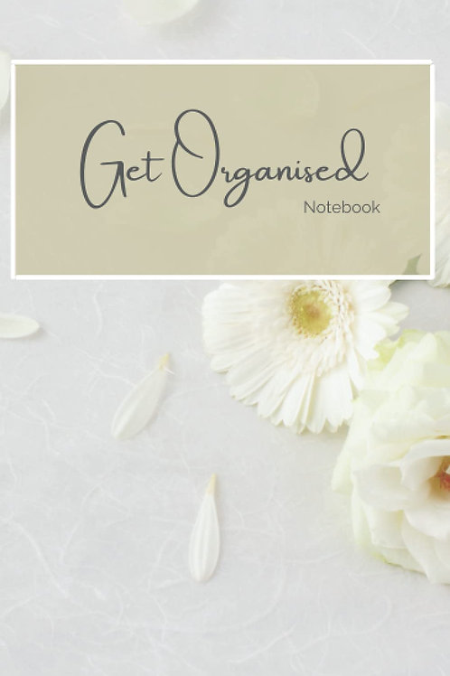 Get Organised Notebook