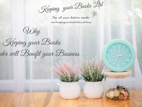 Why Keeping your Books in Order will Benefit your Business