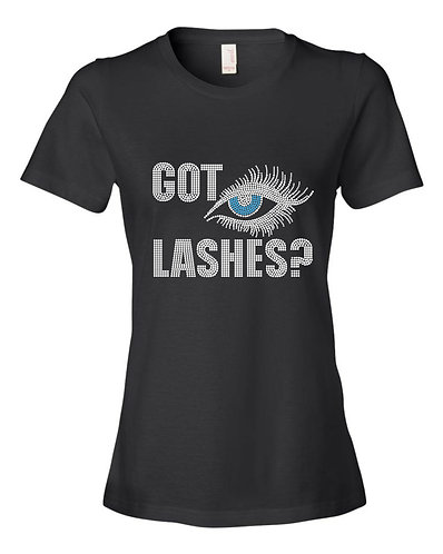 GOT LASHES? (BLUE EYE)