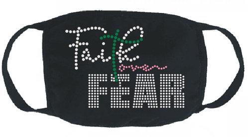 FAITH OVER FEAR (CRYSTAL GREEN PINK)