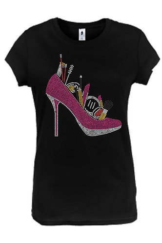 SHOE WITH MAKEUP (PINK)