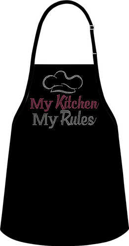 MY KITCHEN MY RULES (APRON)