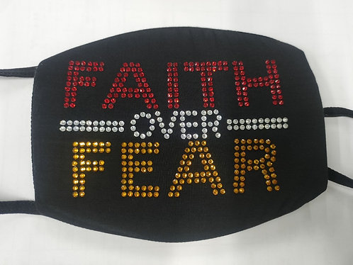 FAITH OVER FEAR (Gold/Red)