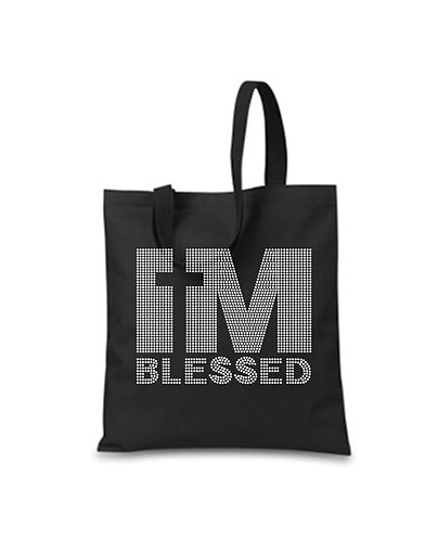 I'M BLESSED TOTE