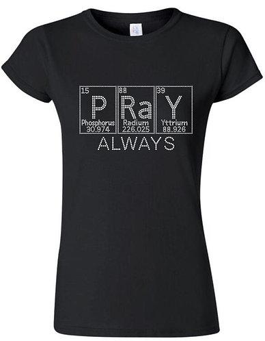 PRAY ALWAYS (Periodic Chart)