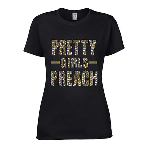 PRETTY GIRLS PREACH (Silver/Gold Mix)