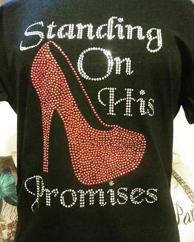 STANDING ON HIS PROMISES (RED)