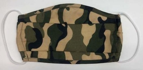FASHION MASK (Camo with Filter)