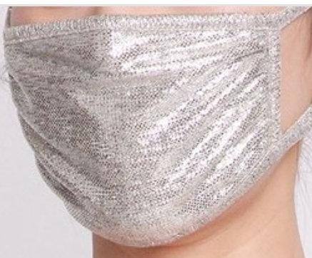 Fashion Mask (Silver Shimmer)