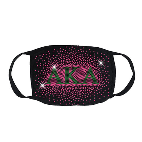 FASHION MASK: AKA with Pink Splash