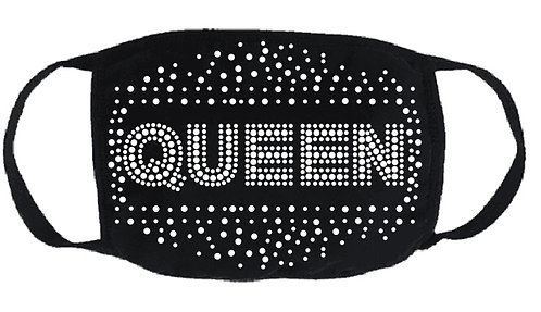 QUEEN CRYSTAL FASHION MASK WITH FILTER
