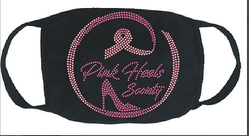 PINK HEELS SOCIETY AWARENESS MASK