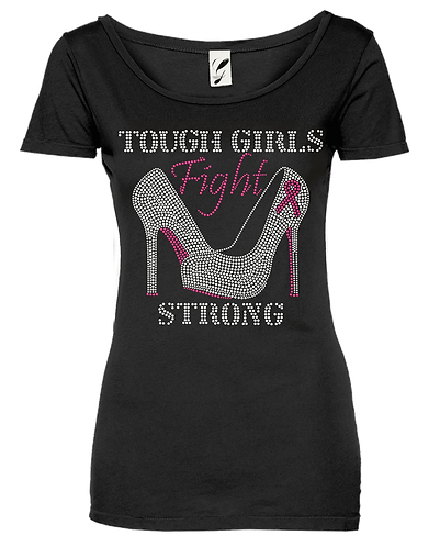 BREAST CANCER (TOUGH GIRLS HEELS)