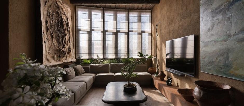 Sergey Makhno Architects (Україна). Квартира архітектора в стилі вабі-сабі