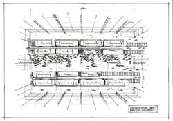 IMPLANTATION - Gare