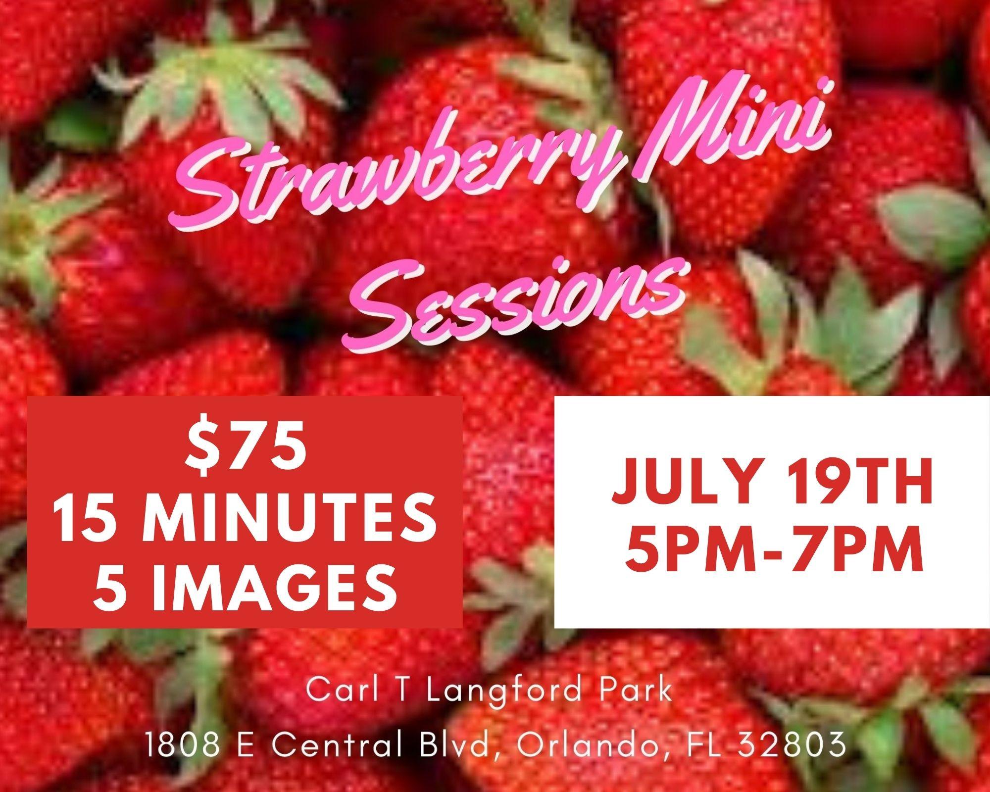 Strawberry  Mini