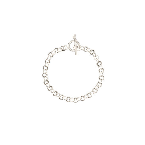 Corona silver bracelet