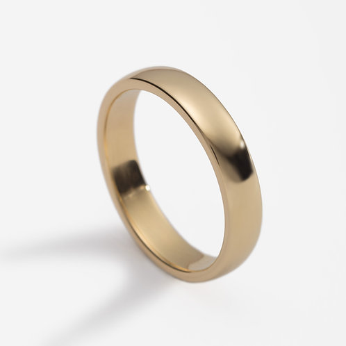 18ct yellow gold men's wedding ring