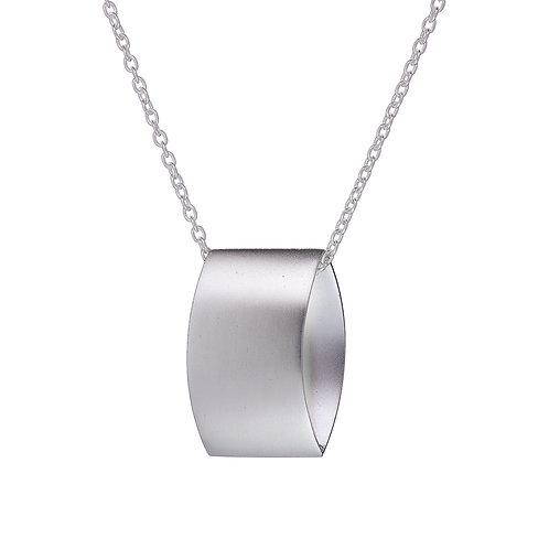 Overpass silver pendant