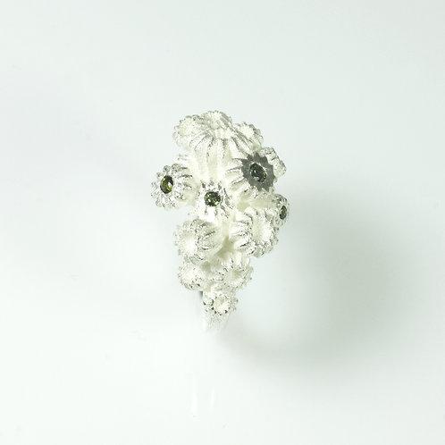 'Coralblossom' ring