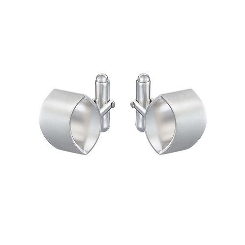 Overpass silver cufflinks