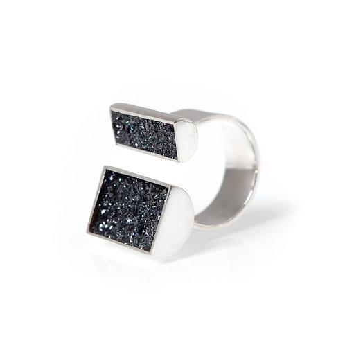 Urban Geode Asymmetric Ring