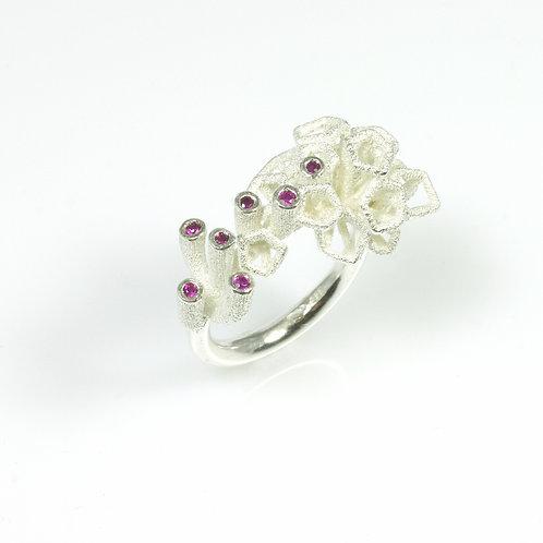 'Scion Pink Flamingo' ring