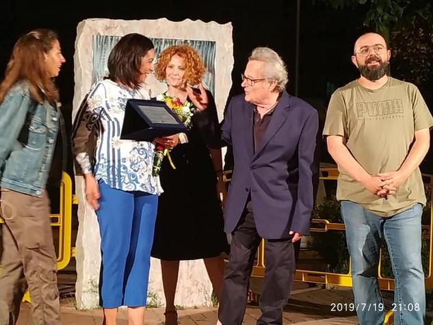 premiazione con Nicola Magrone e Marisa