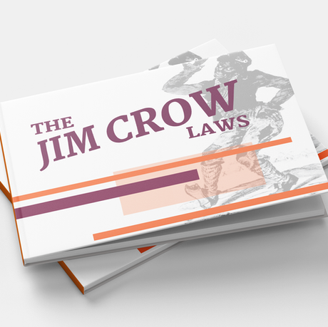 Jim Crow Laws Info Book