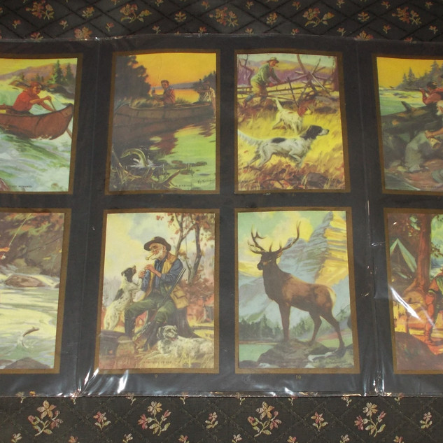 Antique Trail & Stream Mailing Cards w/Folder  $66