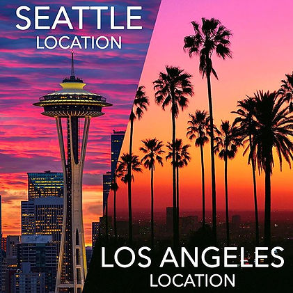 With locations in the LA and Seattle are