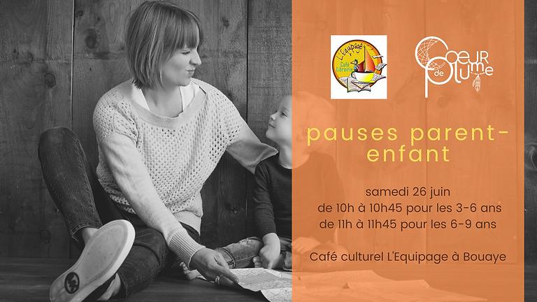 Pauses parents-enfants