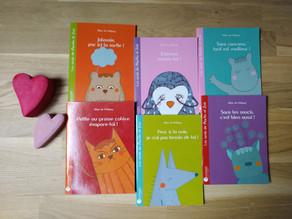 Sélection de livres et jeux pour les moins de 7 ans aux éditions Pourpenser