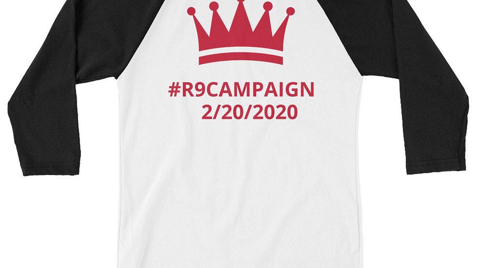 3/4 sleeve raglan shirt - KenYUCK #R9CAMPAIGN 2/20/2020 TwoTone