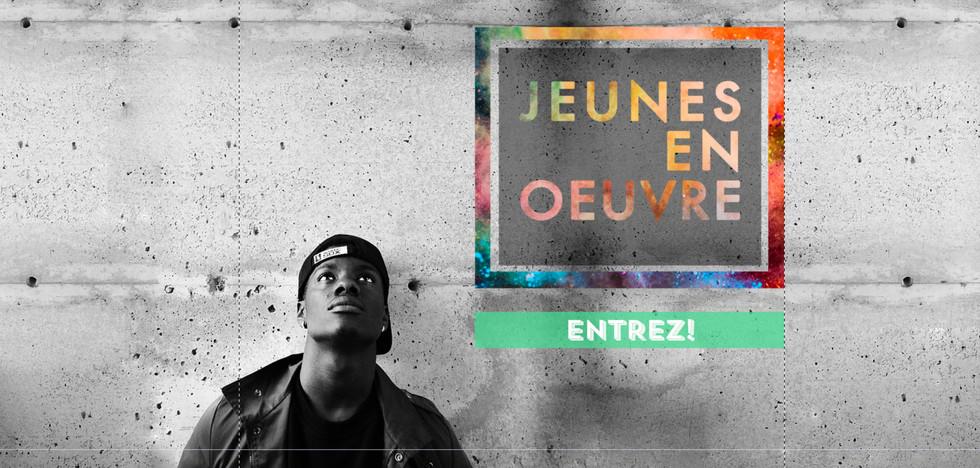 Site web - Jeunes en oeuvre