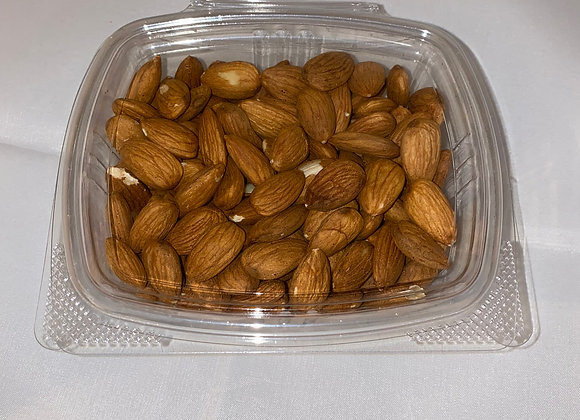 Raw Unblanched Whole Almonds 8oz package