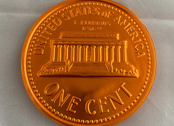 Milk Chocolate Coin  - 1 Cent