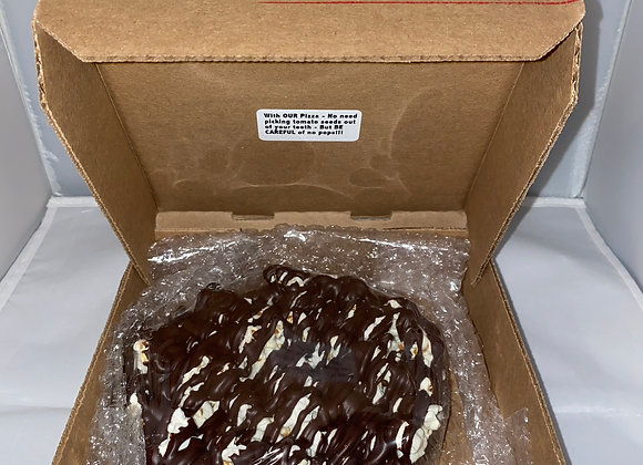 "Small 6"" Chocolate Pizza - Parve GLUTEN FREE"