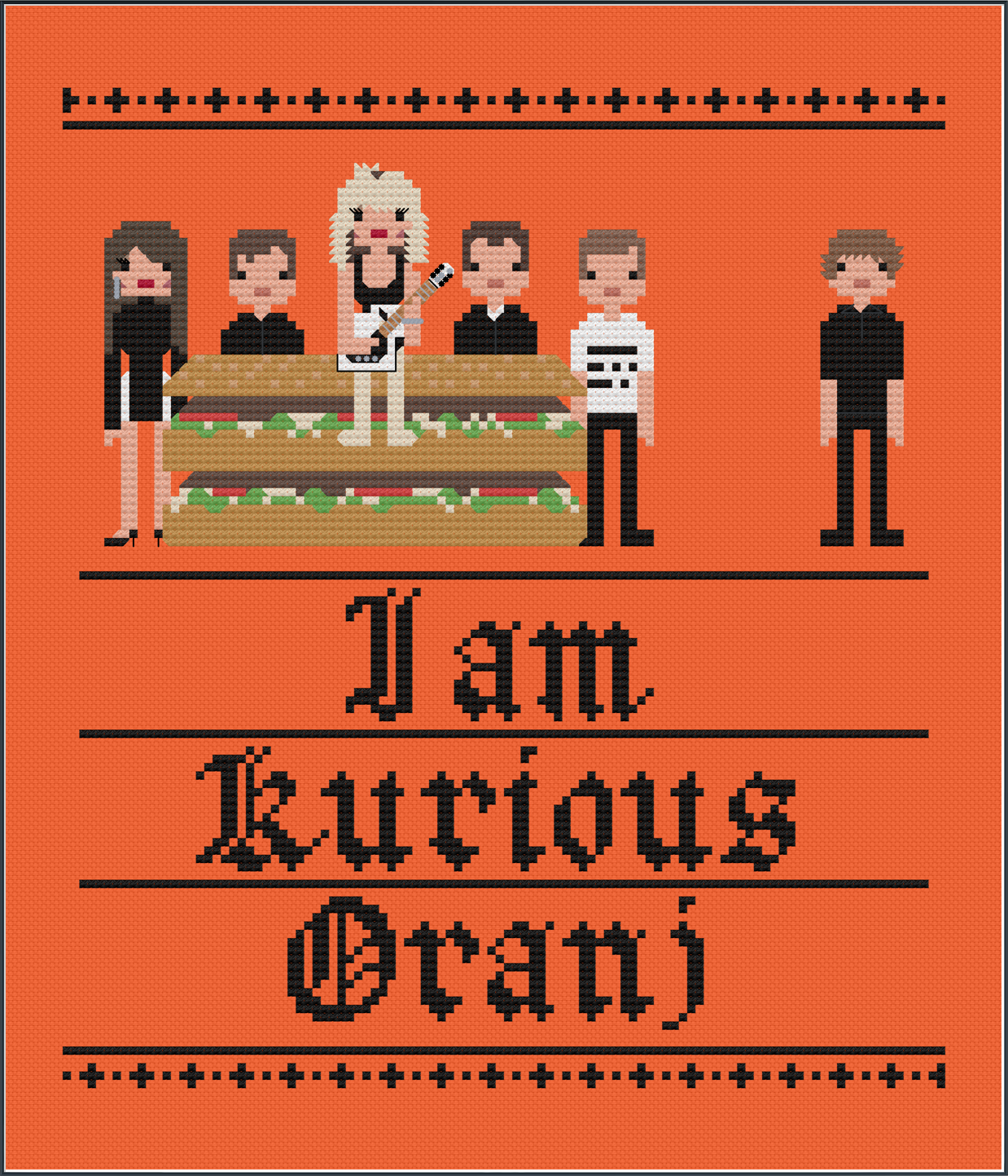 I am Kurious, Oranj - The Fall