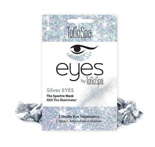 Silver Collagen Eye Pads