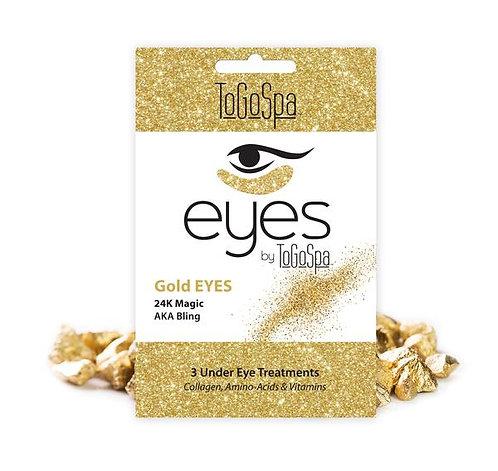 24K Gold Collagen Eye Pads