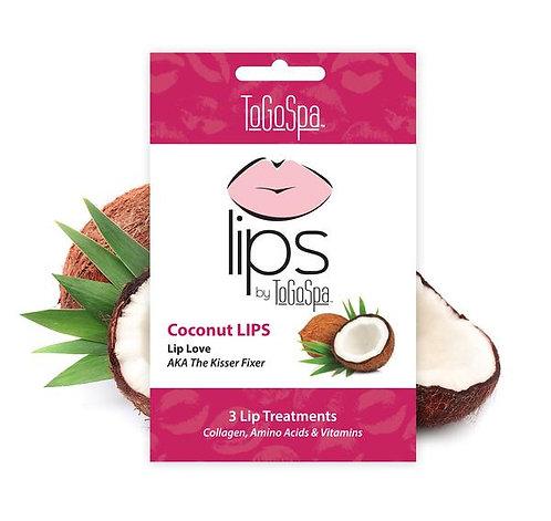 Coconut Lips Collagen Gel Pads